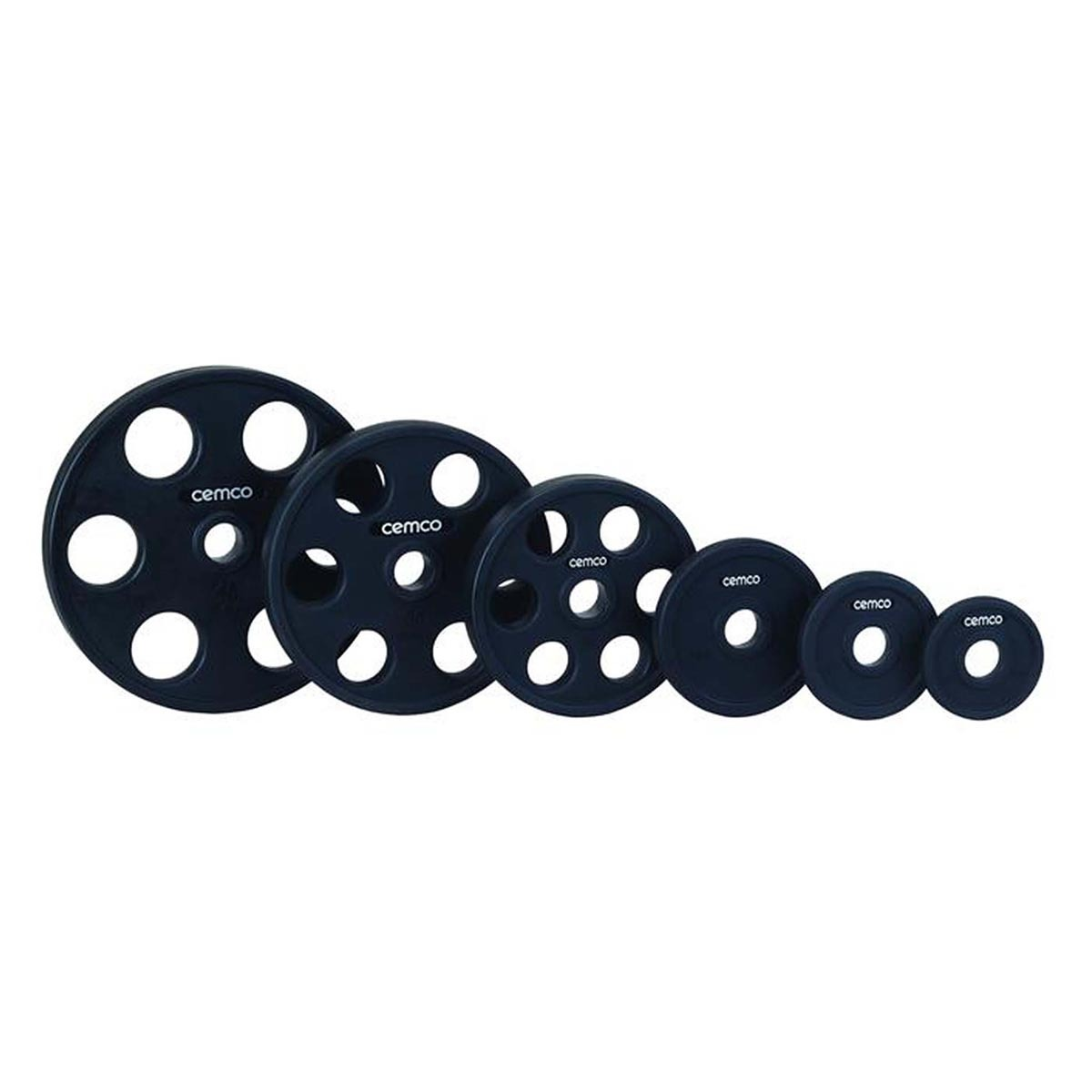 Richmond Free Weights - Cemco Urethane Olympic Weight Plates - Lifestyle Equipment